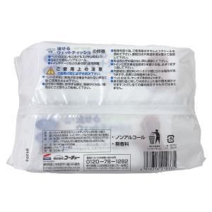 除菌・抗菌 流せるペット用ウェットティッシュ ...の詳細画像1