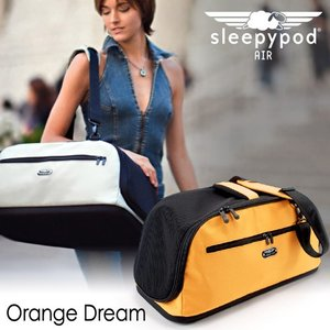 sleepypod Air スリーピーポッドエアー オレンジドリーム (犬用キャリーバッグ・猫用キャリーバッグ)(お散歩グッズ/おでかけグッズ)