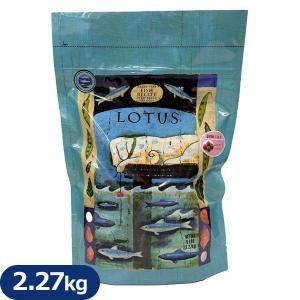 ロータス グレインフリー フィッシュレシピ 小粒 2.27kg (ロータス LOTUS/ロ―タス ドッグフード/ドライフード/成犬用 アダルト/ペットフード/ドックフード)