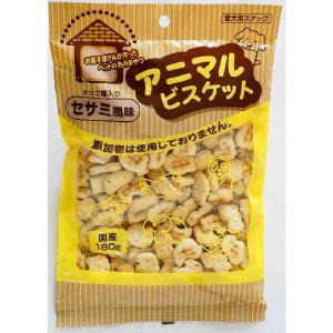 オーシーファーム アニマルビスケット セサミ風味 180g (犬用おやつ/犬のおやつ・いぬのおやつ・犬のオヤツ/ドックフード/bulk)|kurosu