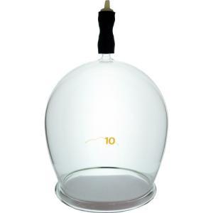 霧島ガラス玉 10号です。直径約10cm 材質 耐熱硬質ガラス 吸引弁付き完成品 相撲取りやプロレス...