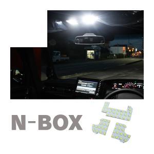 新型 Nボックス カスタム NBOX LEDルームランプ JF3 JF4 パーツ アクセサリー|kuruma-com2006