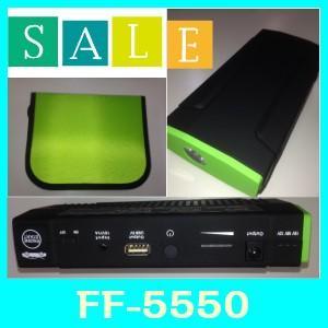 ファイブアンドファイブFF-5550モバイルバッテリー4-in-1機能で車のエンジン始動、USB充電、パソコン充電、LED緊急照明|kurumadecoco
