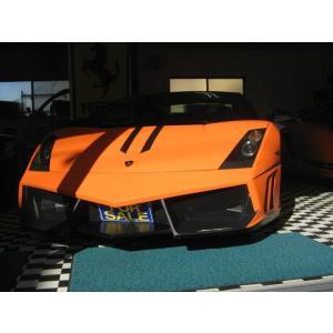 中古車 ランボルギーニ ガヤルド 最終モデルデーラー車オレンジラッピング