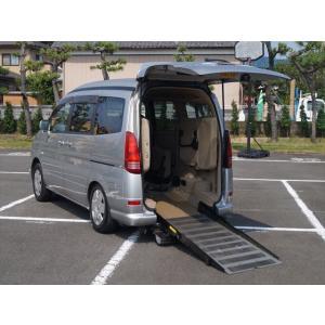 中古車 日産 セレナ チェアキャブ スロープタイプ 補助席付き|kurumaerabi