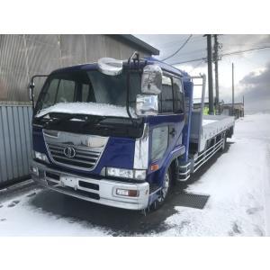中古車 日産ディーゼル コンドル タダノ4段ハイジャッキ 270PS kurumaerabi