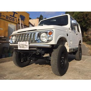 【支払総額698,000円】中古車 スズキ ジムニー JA12V リフトUP MT 4WD