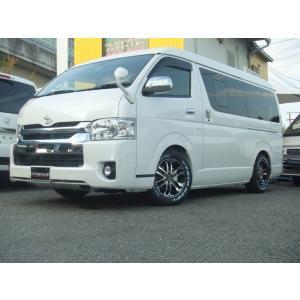 新車 トヨタ ハイエースバン 5型  ワイドボディ 地デジナビ ホイル|kurumaerabi