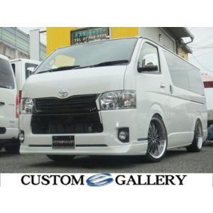 新車 トヨタ ハイエースバン 5型 新車  地デジナビ ベッド エアロ|kurumaerabi