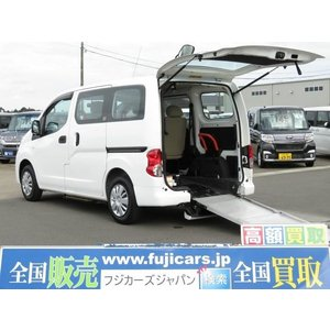 中古車 日産 NV200バネット 福祉車輛 チェアキャブ 車椅子一基固定 6名乗車|kurumaerabi
