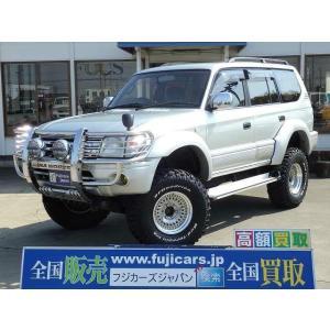 中古車 トヨタ ランドクルーザープラド TX 4WD 4インチボディリフト|kurumaerabi