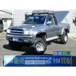 中古車 トヨタ ハイラックス エクストラキャブワイド ハードトノカバー リフトUP|kurumaerabi