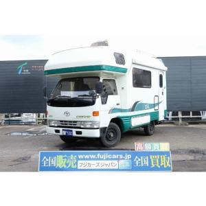 中古車 トヨタ カムロード キャンピング バンテックジル 4WD FFヒーター|kurumaerabi