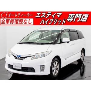 中古車 トヨタ エスティマハイブリッド エスティマ HV 2.4G 1オーナー パノラミックスパーライブサウンド kurumaerabi