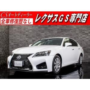 中古車 レクサス GS450h IーPKG 黒革 禁煙 スピンドル DTV|kurumaerabi