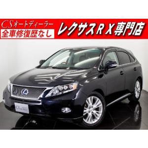 中古車 レクサス RX450h -L 黒革エアシート車高調 クリアランスソナ- kurumaerabi