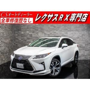 中古車 レクサス RX450hL RX450h-L 現行 サンルーフ本革Newモデリスタエアロ|kurumaerabi