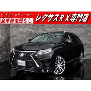 中古車 レクサス RX450h -L 現行仕様 黒革 サンルーフ 禁煙車|kurumaerabi