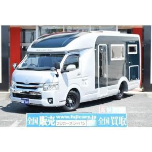中古車 トヨタ ハイエース ハイエース セキソー トムバロン 家庭用エアコン ソーラー|kurumaerabi