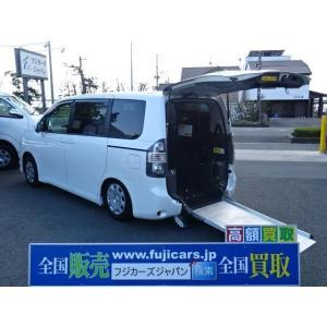 中古車 トヨタ ヴォクシー 福祉車両 XLエディション 車いす仕様車 2基積み|kurumaerabi