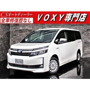 中古車 トヨタ ヴォクシー VOXY 1.8HV-V 後席リアモニター パワ-スライド LEDライト|kurumaerabi