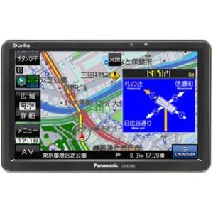 Panasonic パナソニック Gorilla CN-G500D SSDポータブルカーナビゲーション
