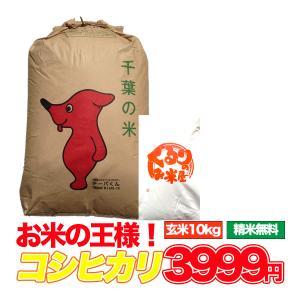 新米入荷 お米 10kg こしひかり 千葉県 玄米 うるち米...