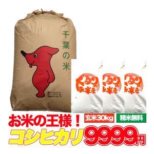 米 お米 30kg こしひかり 10kg×3袋 千葉県 玄米...