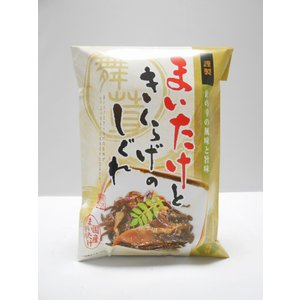 舞茸ときくらげのしぐれ煮|kusatu-meisan
