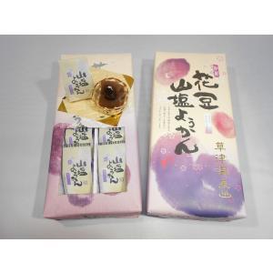 花豆山塩ようかん 8個入り|kusatu-meisan