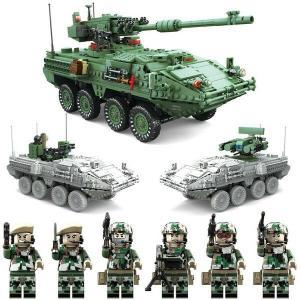 M1128 ストライカー MGS 装甲車 1:21 互換 レゴ lego  アメリカ陸軍 フィギュア...