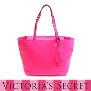 ヴィクトリアシークレット Victoria's Secret トートバッグ ホットピンク|kusunokishop