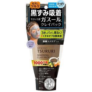 【倍!倍!ストア 誰でも+5%】ツルリ 黒ずみ吸着 ガスールパック 150g|kusurino-wakaba
