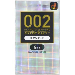 オカモト うすさ均一 0.02EX 6個入 /コンドーム 避妊具 スキン|kusurino-wakaba