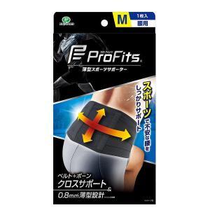 ピップ 薄型 圧迫固定サポーター プロ・フィッツ 腰用 1枚入り M/L|kusurino-wakaba