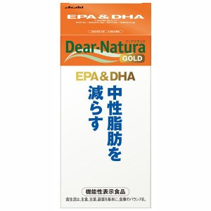 【倍!倍!ストア 誰でも+5%】ディアナチュラゴールド EPA&DHA 180粒 / 機能性表示食品|kusurino-wakaba