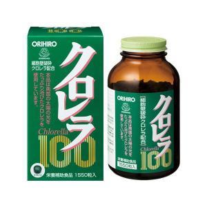 【倍!倍!ストア 誰でも+5%】オリヒロ クロレラ100 1550粒|kusurino-wakaba