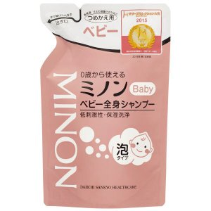ミノン ベビー全身シャンプー 300ml(詰め替え用) kusurino-wakaba