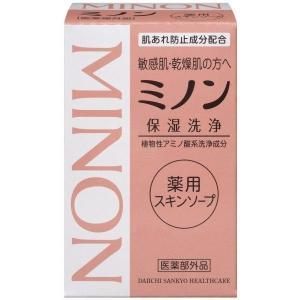 ミノン 薬用スキンソープ 80g / 医薬部外品 kusurino-wakaba
