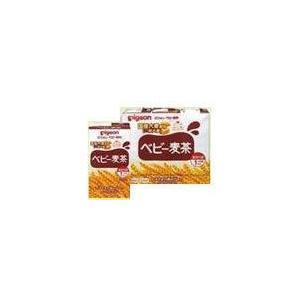 ピジョン ベビー飲料 国産大麦使用 ベビー麦茶 (125ml...