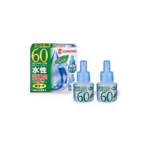 キンチョウ 水性キンチョウリキッド 緑茶プラス 【60日用】 取替え液 (2本入り)|kusurinofukutaro