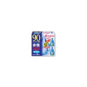キンチョウ 水性キンチョウリキッド 無香料 【90日用】 取替え液 (2本入り)|kusurinofukutaro
