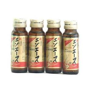即納 【第3類医薬品】滋養強壮 新エゾエースH (50ml×4本入) 送料無料|kusurinofukutaro