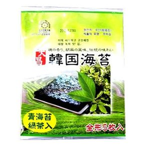 大昌食品 韓国海苔 全形 (5枚入) 韓国食品 ※軽減税率対象商品|kusurinofukutaro
