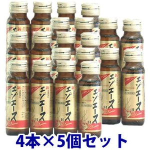 即納 【第3類医薬品】セット販売 滋養強壮 新エゾエースH (50ml×4本入)×5個セット 送料無料|kusurinofukutaro
