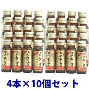 即納 【第3類医薬品】セット販売 滋養強壮 新エゾエースH (50ml×4本入)×10個セット 送料無料|kusurinofukutaro