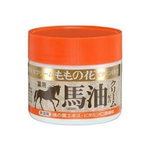 オリヂナル ももの花 全身保湿クリーム 馬油配合クリーム (70g) 医薬部外品 kusurinofukutaro