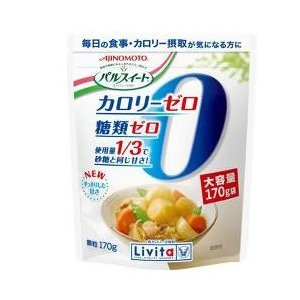 味の素 大正製薬 リビタ パルスイート カロリーゼロ 低カロリー甘味料 顆粒 (170g) ※軽減税率対象商品|kusurinofukutaro