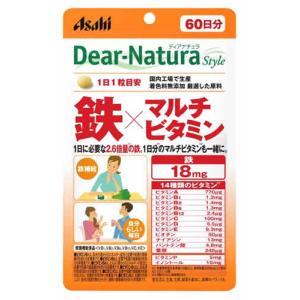 アサヒ ディアナチュラ スタイル 鉄 × マルチビタミン 60日分 (60粒)