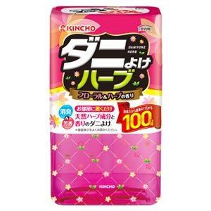 金鳥 KINCHO キンチョウ ダニよけハーブ 100日 フローラル&ハーブの香り (300mL) ダニ用 忌避剤|kusurinofukutaro